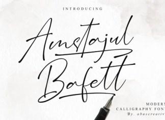Amstajul Bufett Font