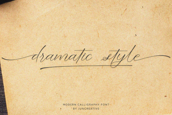 Dramatic Style Font