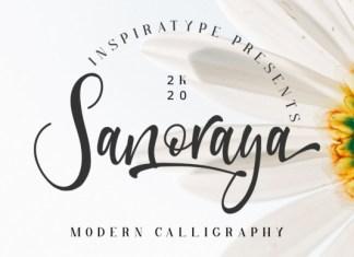 Sanoraya Font