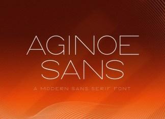 Aginoe Font