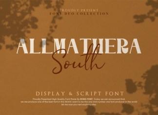Allmathera South Font