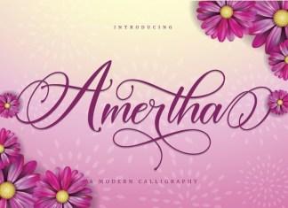 Amertha Font