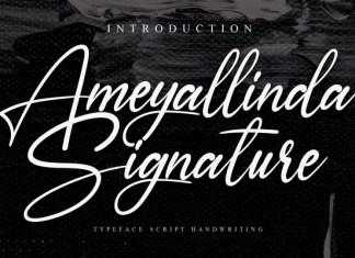 Ameyallinda Font
