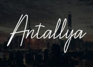 Antallya Font