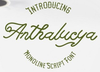 Anthalucya Font