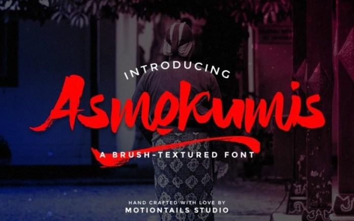 Asmokumis Font