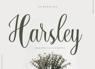 Harsley Font