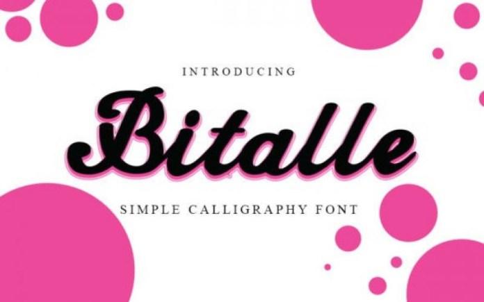 Bittale Font