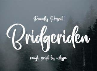 Bridgeriden Font