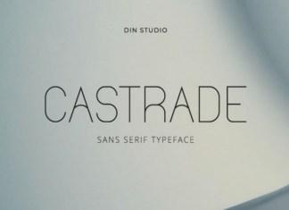 Castrade Font