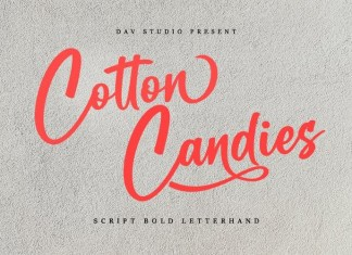 Cotton Candies Font