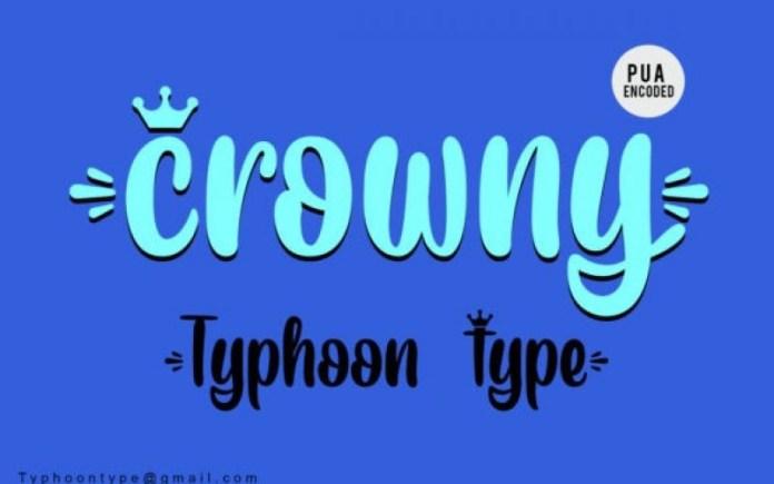 Crowny Font