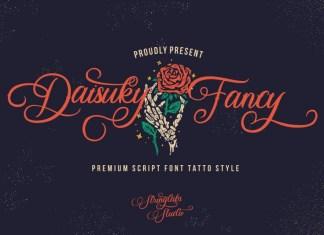 Daisuky Fancy Font
