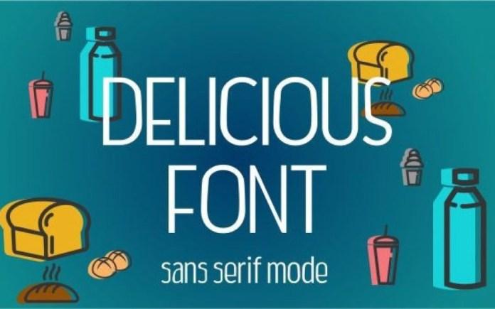 Delicious Font
