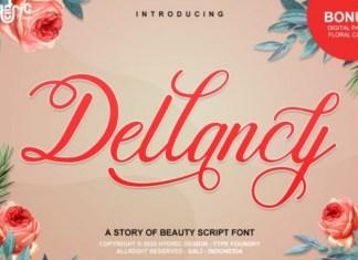 Dellancy Font