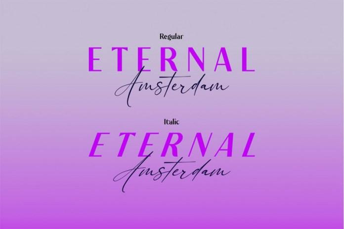 Eternal Amsterdam Font