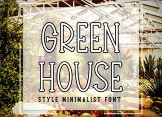 Green House Font