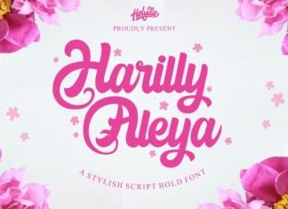 Harilly Aleya Font