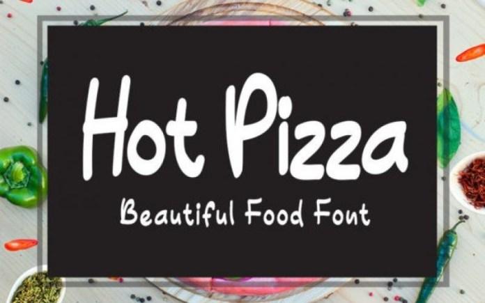 Hot Pizza Font