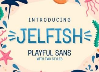 Jelfish Font