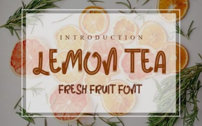 Lemon Tea Font