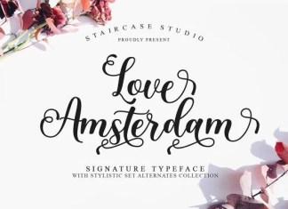 Love Amsterdam Font