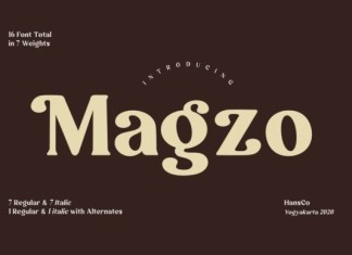 Magzo Font