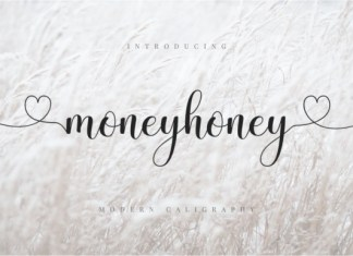 Moneyhoney Font