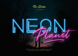Neon Planet Font