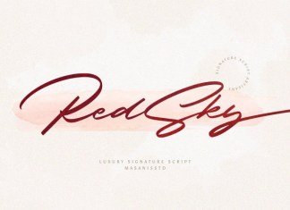 RedSky Font