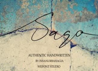 Sago Font