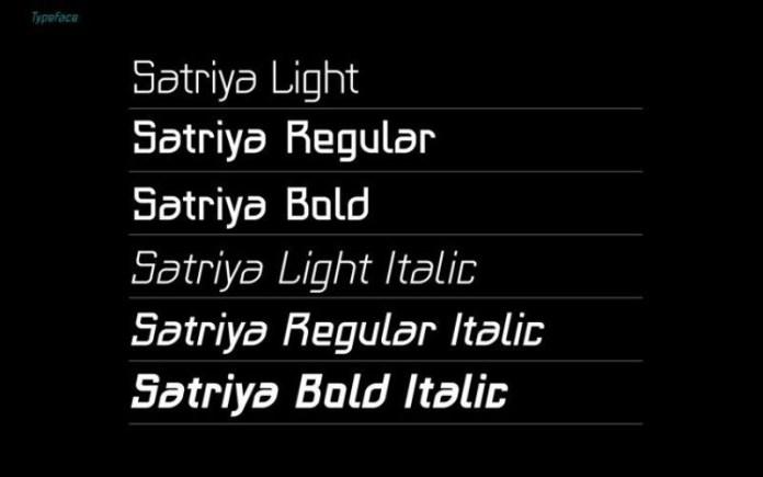 Satriya Font