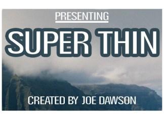 Super Thin Font