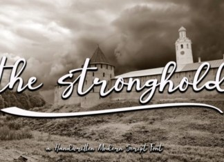 The Stronghold Font