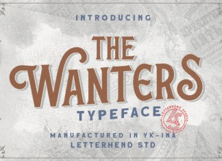 The Wanters Font