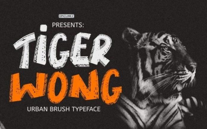 Tiger Wong Font