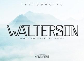 Walterson Font