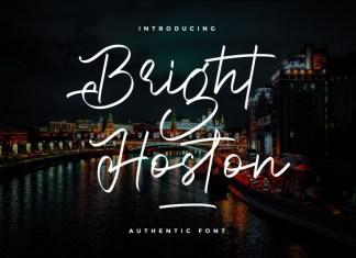 Bright Hoston Font