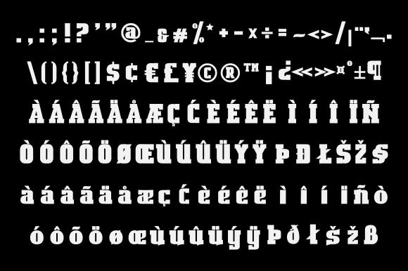 Bosih Font