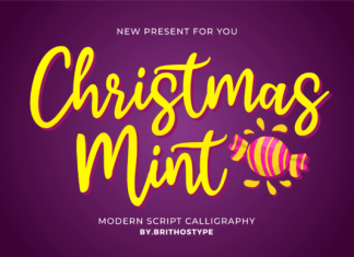Christmas Mint Font