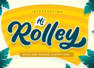 Hi Rolley Font