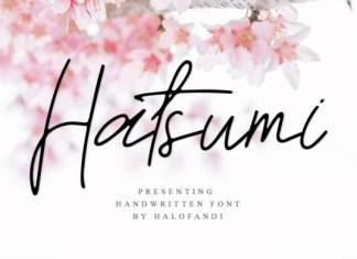 Hatsumi Font