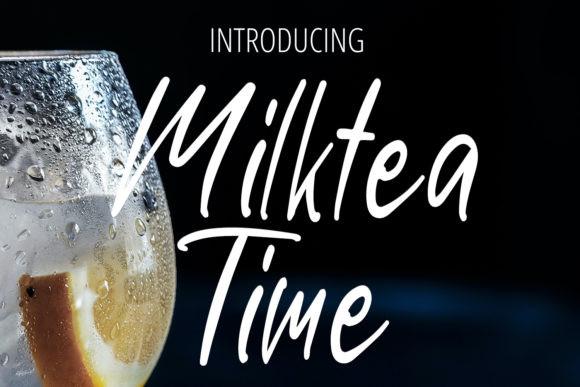 Milktea Time Font