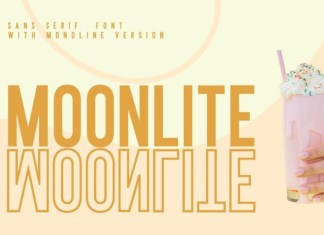 Moonlite Solid Font
