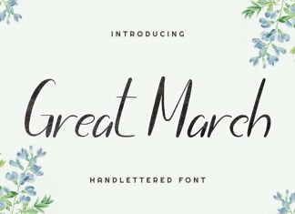 Great March Font