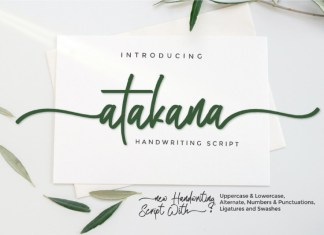 Atakana Font