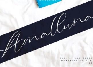 Amalluna Font