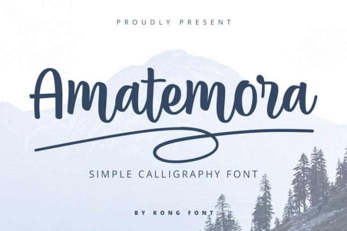 Amatemora Font