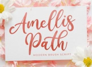 Amellis Path Font