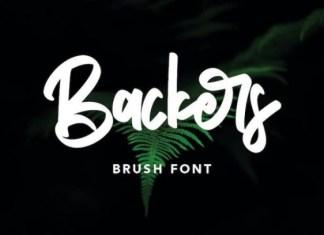 Backers Font